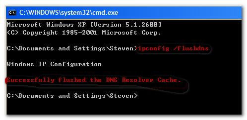 如何有效清除本机DNS缓存-Sleep's Blog