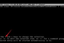 Centos7 忘记/修改/重置密码的处理办法-⎛Sleep's Blog⎞